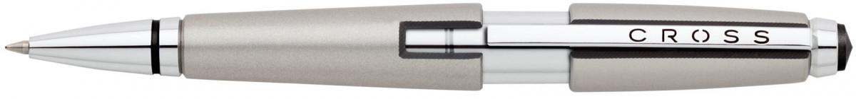 Cross Edge Rollerball Pen - Sonic Titanium
