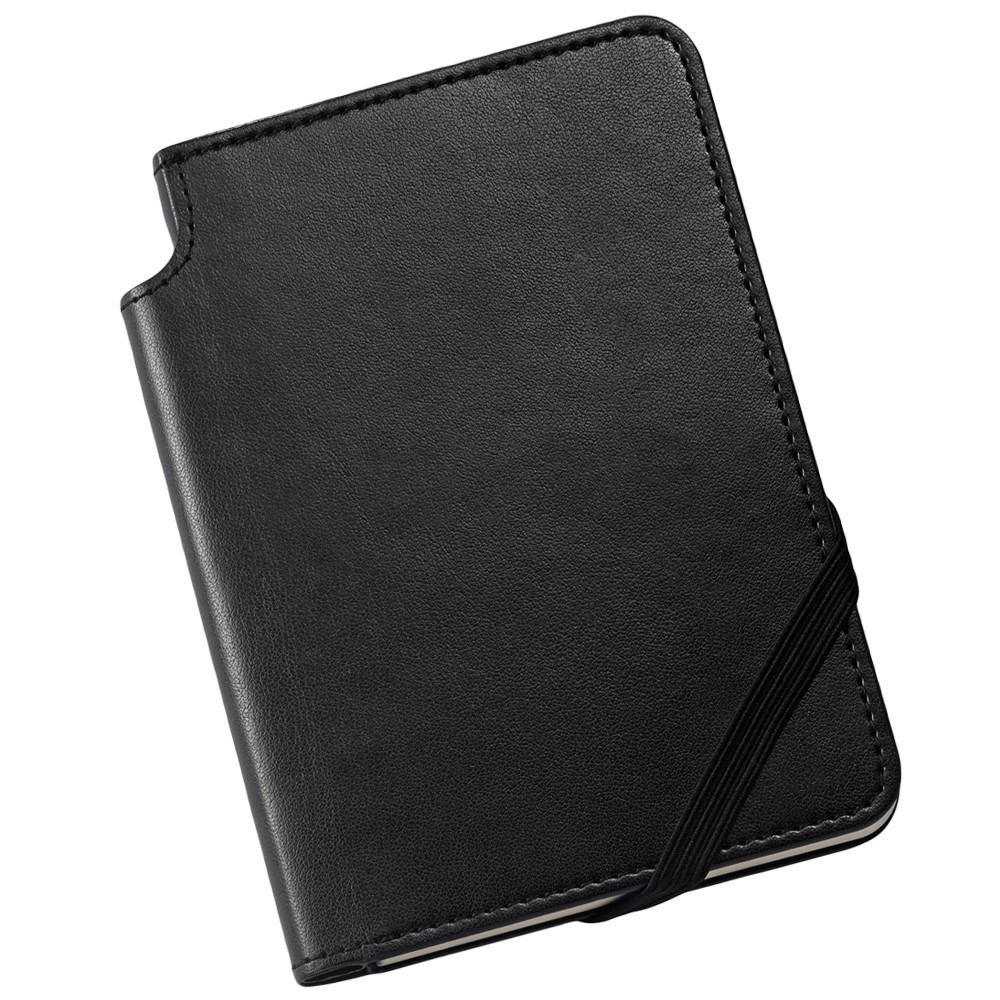 Cross Ruled Leather Journal - Classic Black - Small
