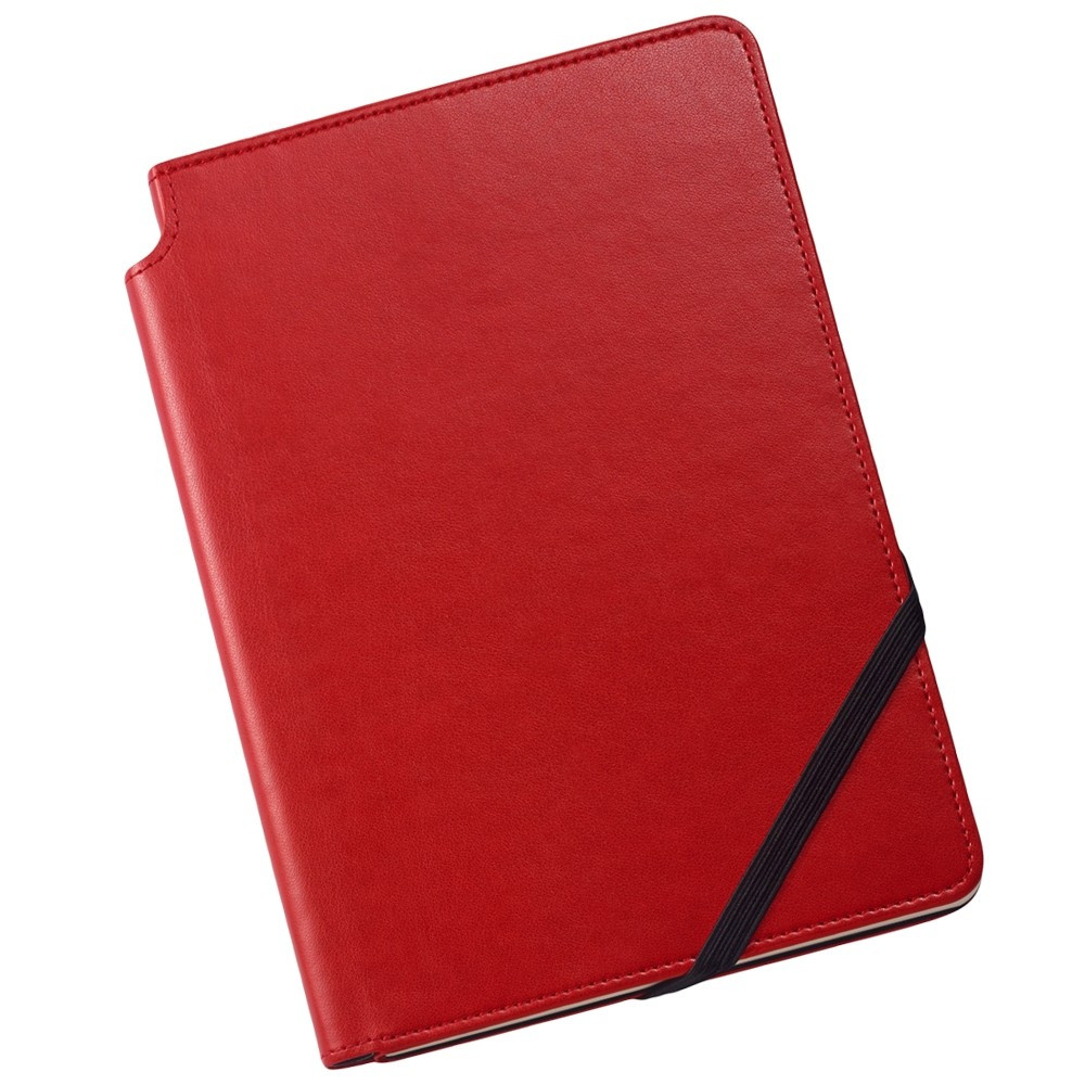 Cross Leather Journal - Crimson Red - Medium