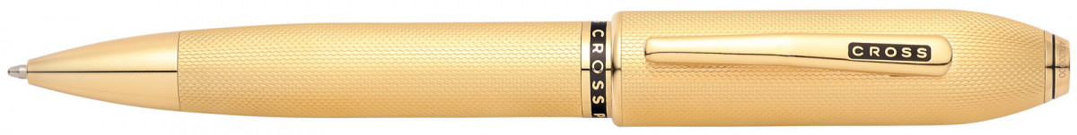 Cross Peerless 125 Ballpoint Pen - 23K Heavy Gold Plated