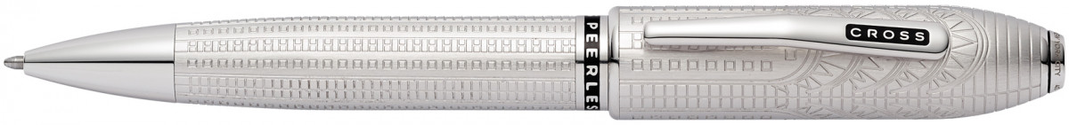 Cross Peerless Ballpoint Pen - New York Platinum Plated (Special Edition)
