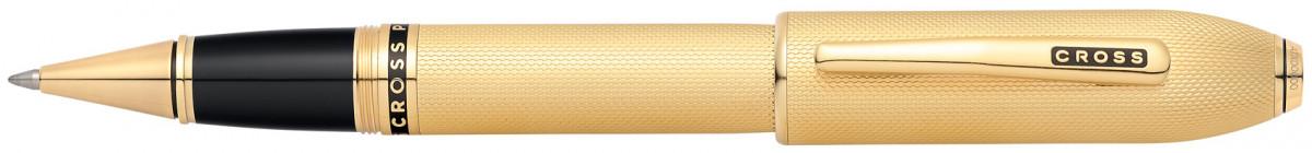 Cross Peerless 125 Rollerball Pen - 23K Heavy Gold Plated