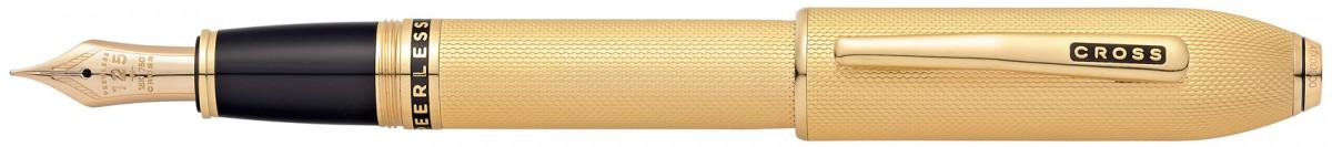 Cross Peerless 125 Fountain Pen - 23K Heavy Gold Plated