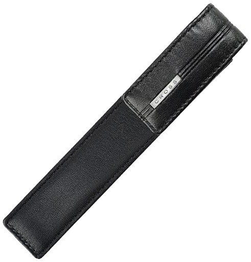 Cross Single Pen Pouch - Black Leather
