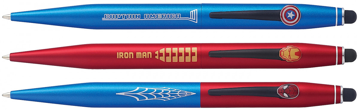 Cross Tech2 Ballpoint Pen - Marvel Multipack