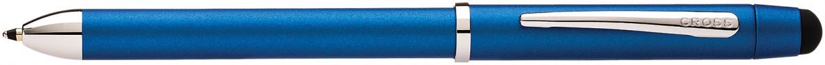 Cross Tech3+ Multipen - Metallic Blue Chrome Trim