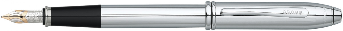 Cross Townsend Fountain Pen - Lustrous Chrome