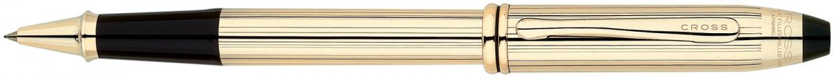 Cross Townsend Rollerball Pen - 10K Gold Filled