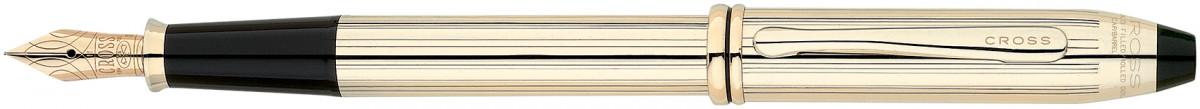 Cross Townsend Fountain Pen - 10K Gold Filled