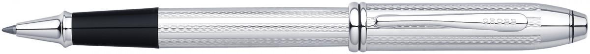 Cross Townsend Rollerball Pen - Platinum Plated