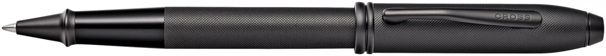 Cross Townsend Rollerball Pen - Micro Knurled Black PVD