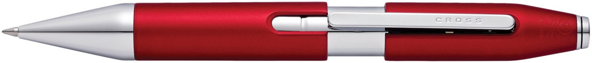 Cross X-Series Rollerball Pen - Crimson Red Chrome Trim