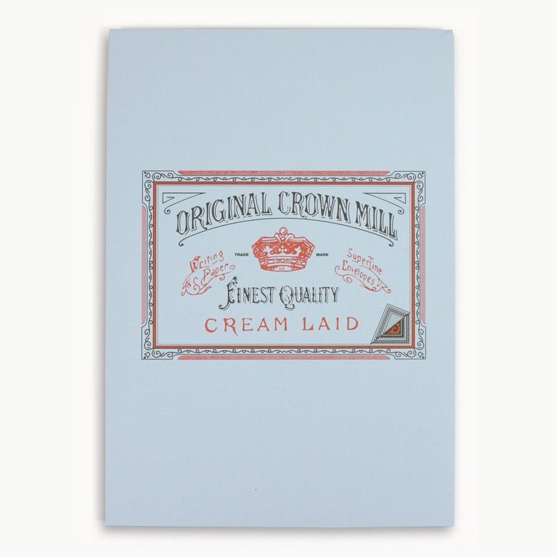 Crown Mill Classics A4 Paper Pad - 50 Sheets - Blue