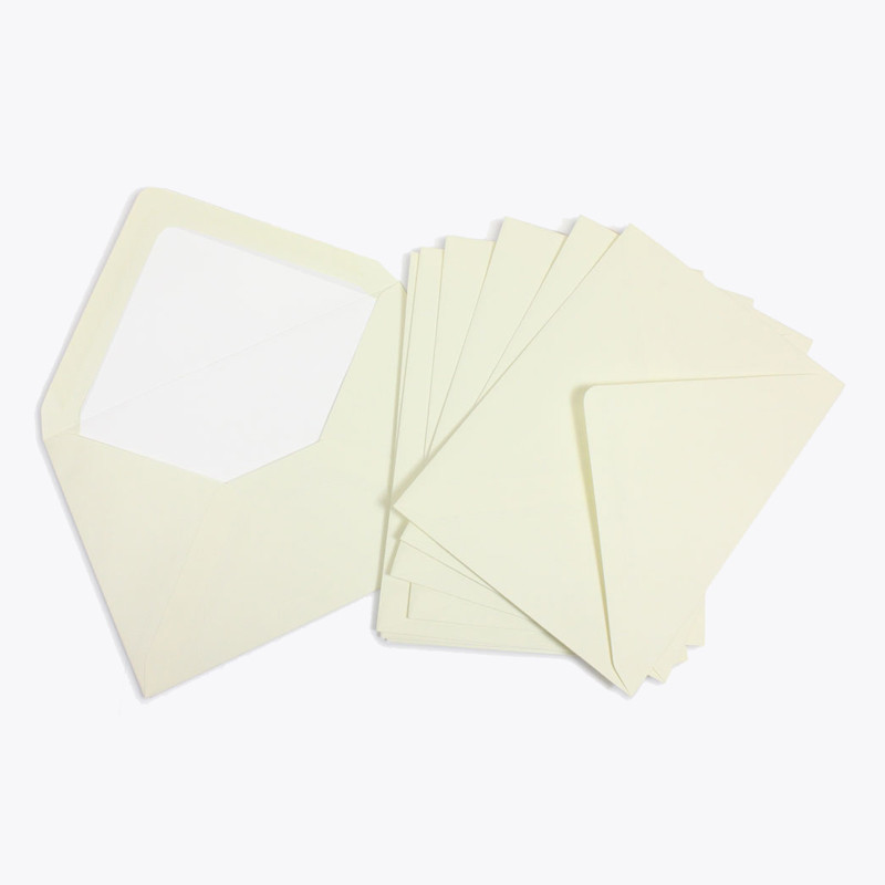 Crown Mill Classics C6 Envelopes - Pack of 25 - Cream