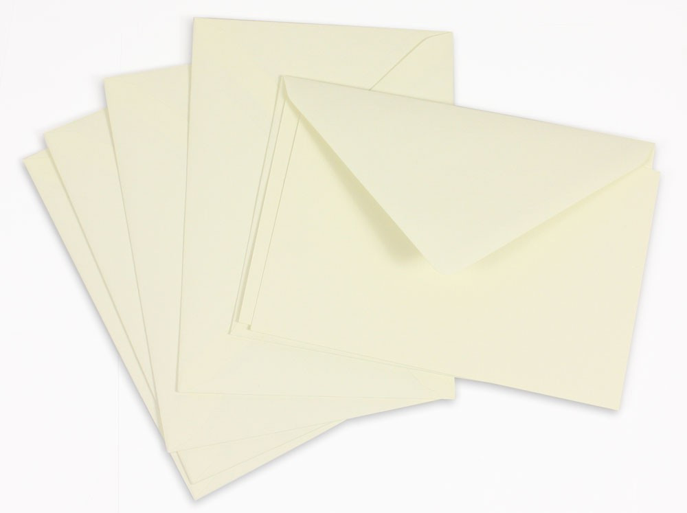 Crown Mill Classics 9x14cm Set of 15 Cards and Envelopes - Cream