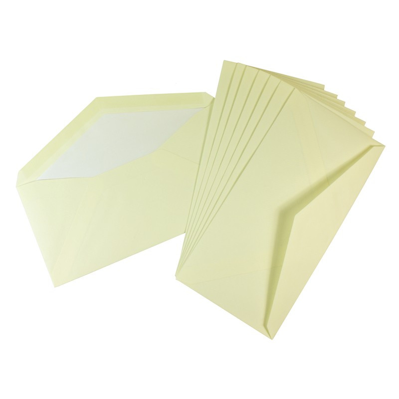 Crown Mill Classics DL Set of 15 Cards and Envelopes - Cream