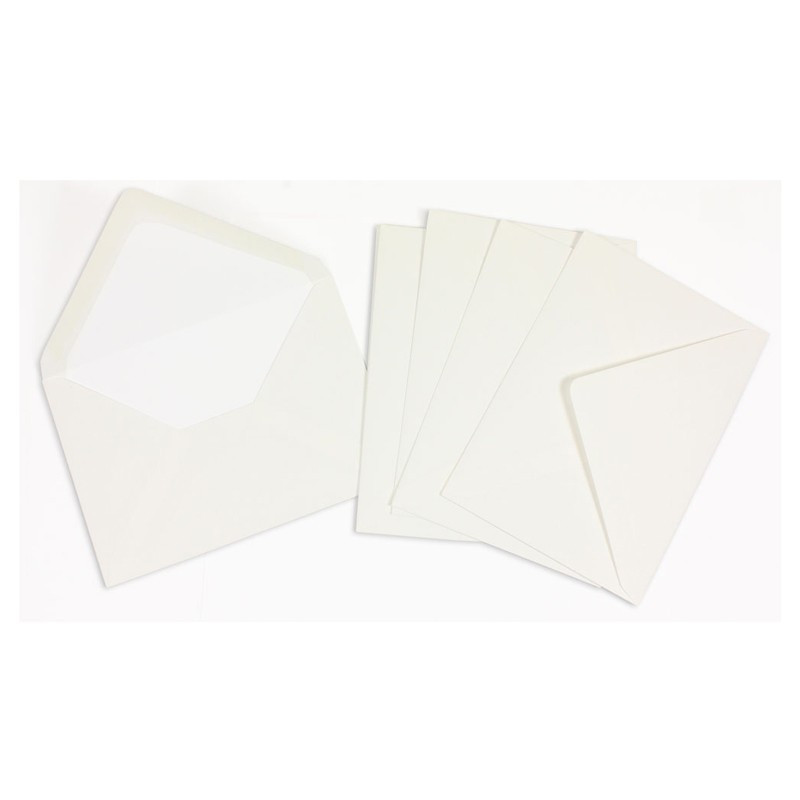 Crown Mill Computer Line C6 100gsm Envelopes - Pack of 50 - White