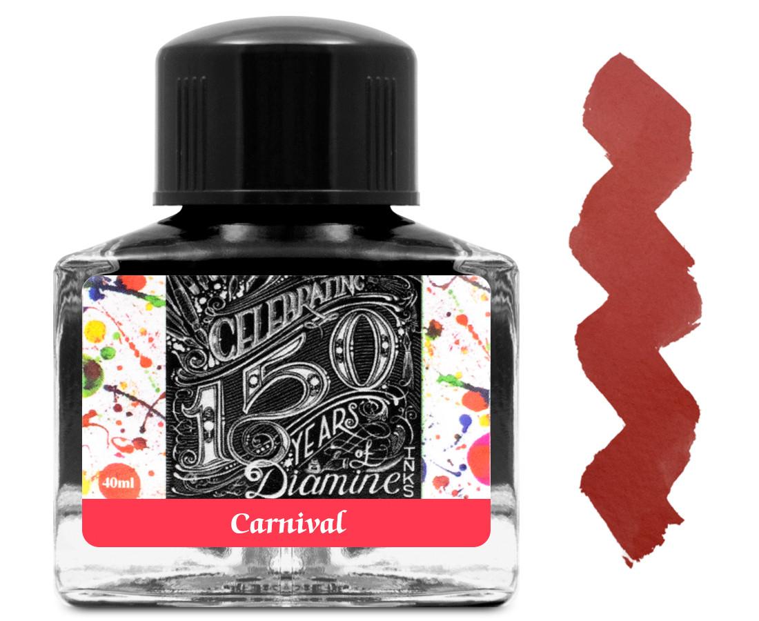Diamine Ink Bottle 40ml - Carnival