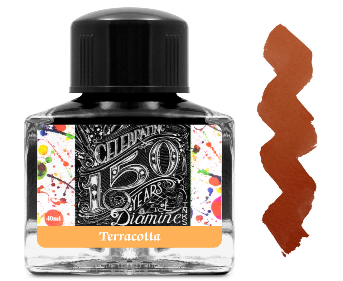 Diamine Ink Bottle 40ml - Terracotta
