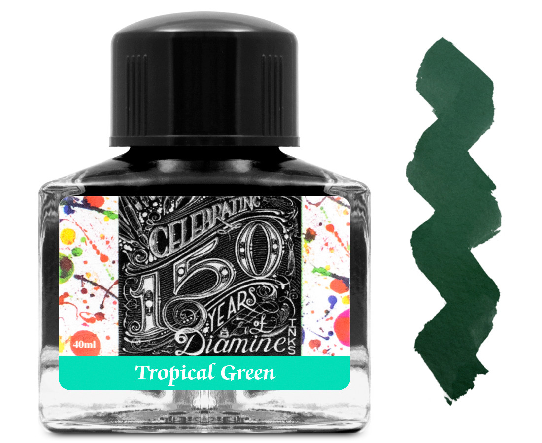 Diamine Ink Bottle 40ml - Tropical Green