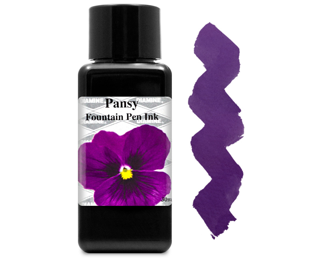 Diamine Ink Bottle 30ml - Pansy