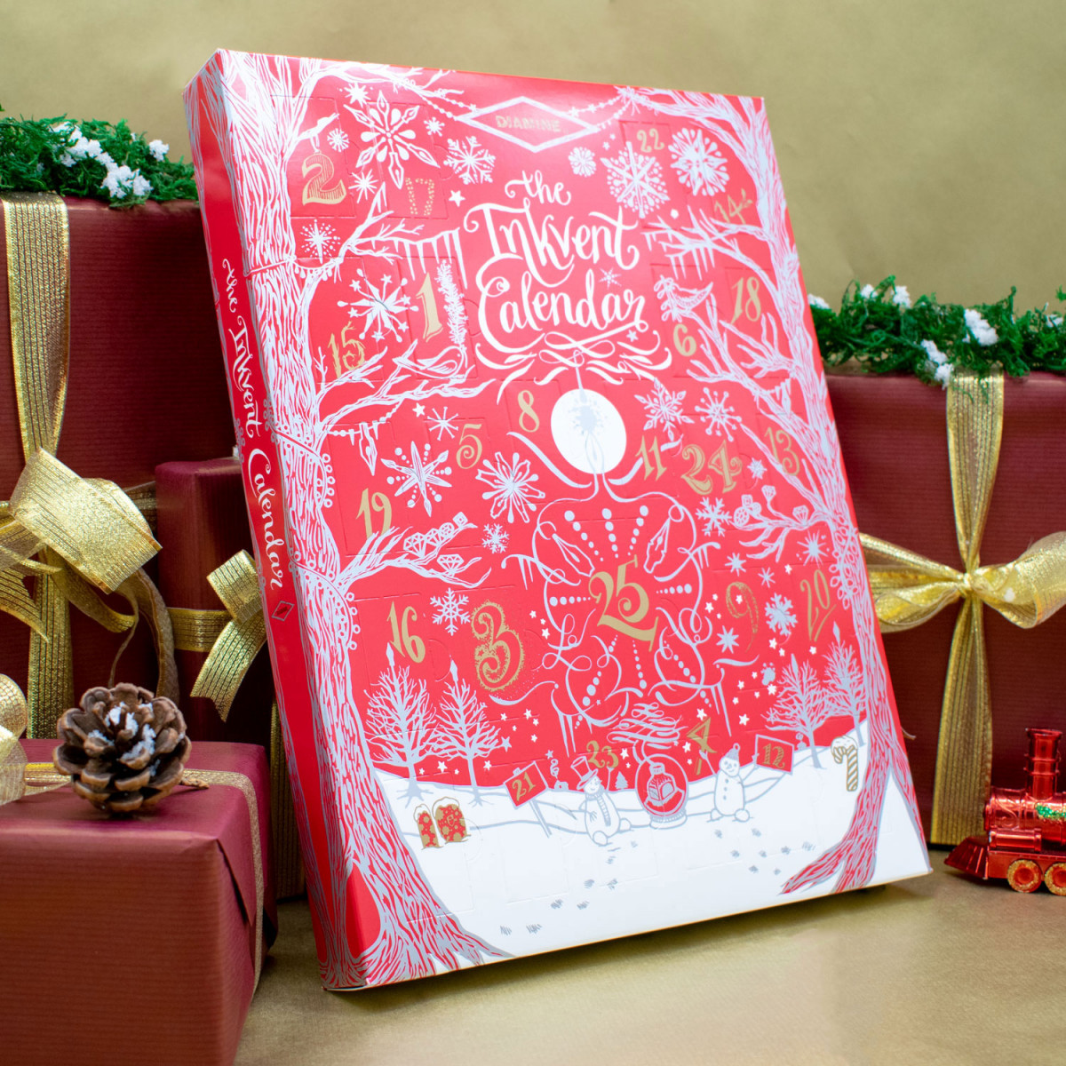 Diamine Inkvent Calendar - Festive Themed (Limited Edition)