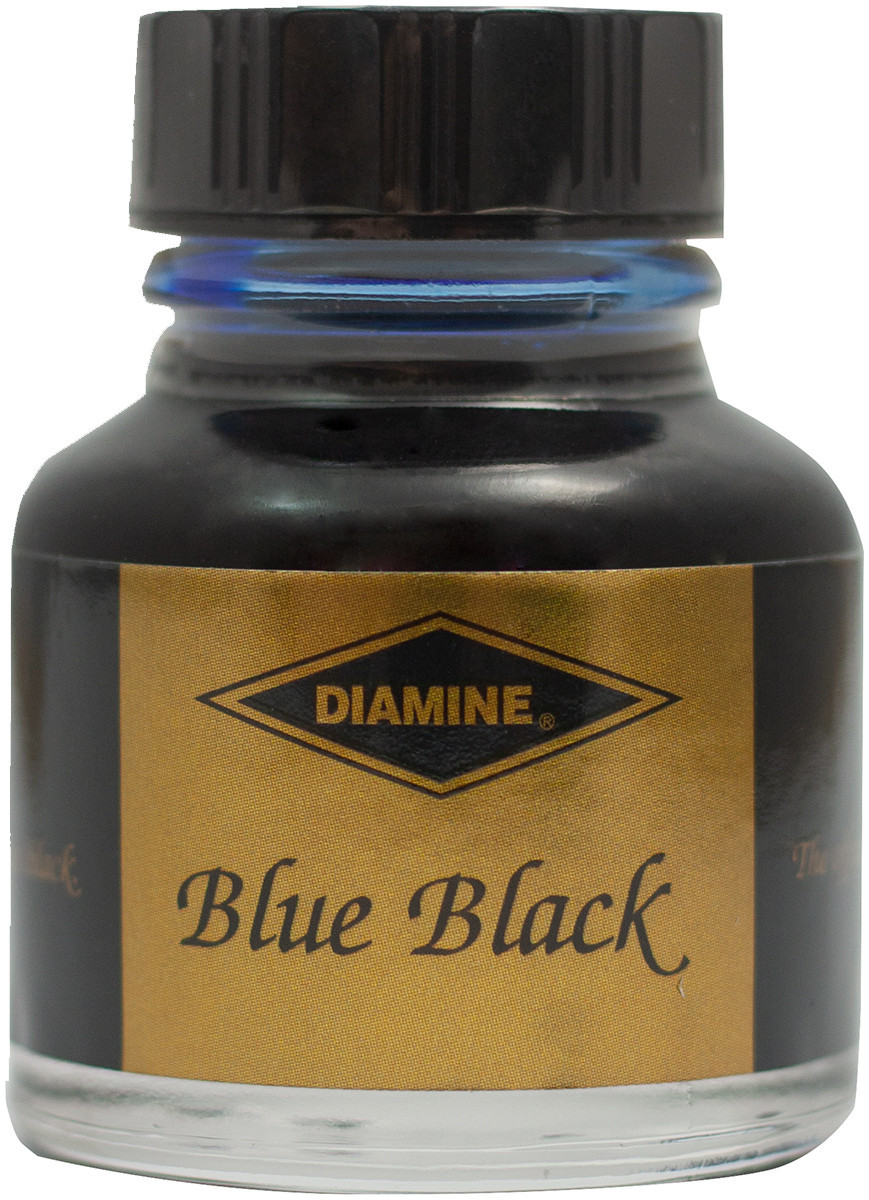 Diamine Ink Bottle 30ml - Registrar's Blue/Black