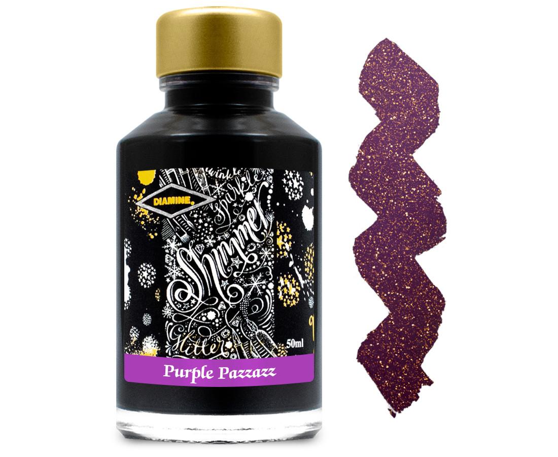Diamine Ink Bottle 50ml - Purple Pazzazz