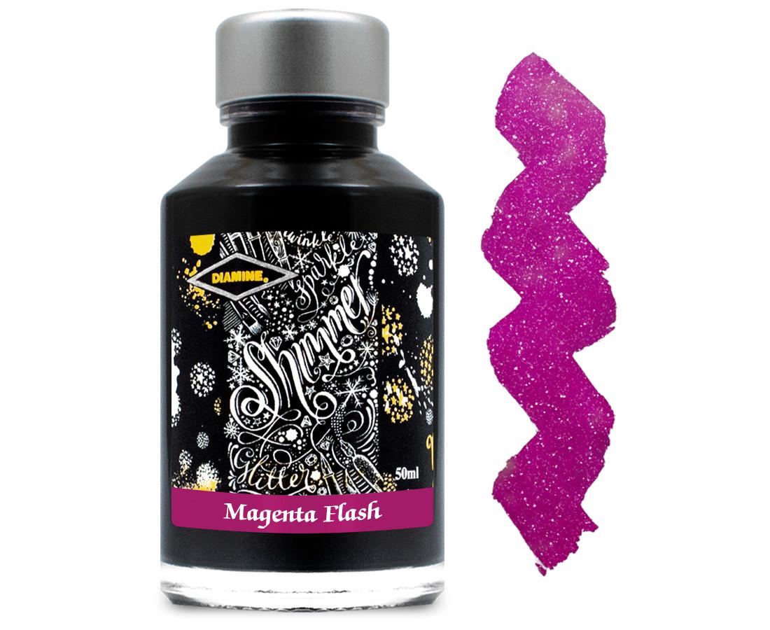 Diamine Ink Bottle 50ml - Magenta Flash