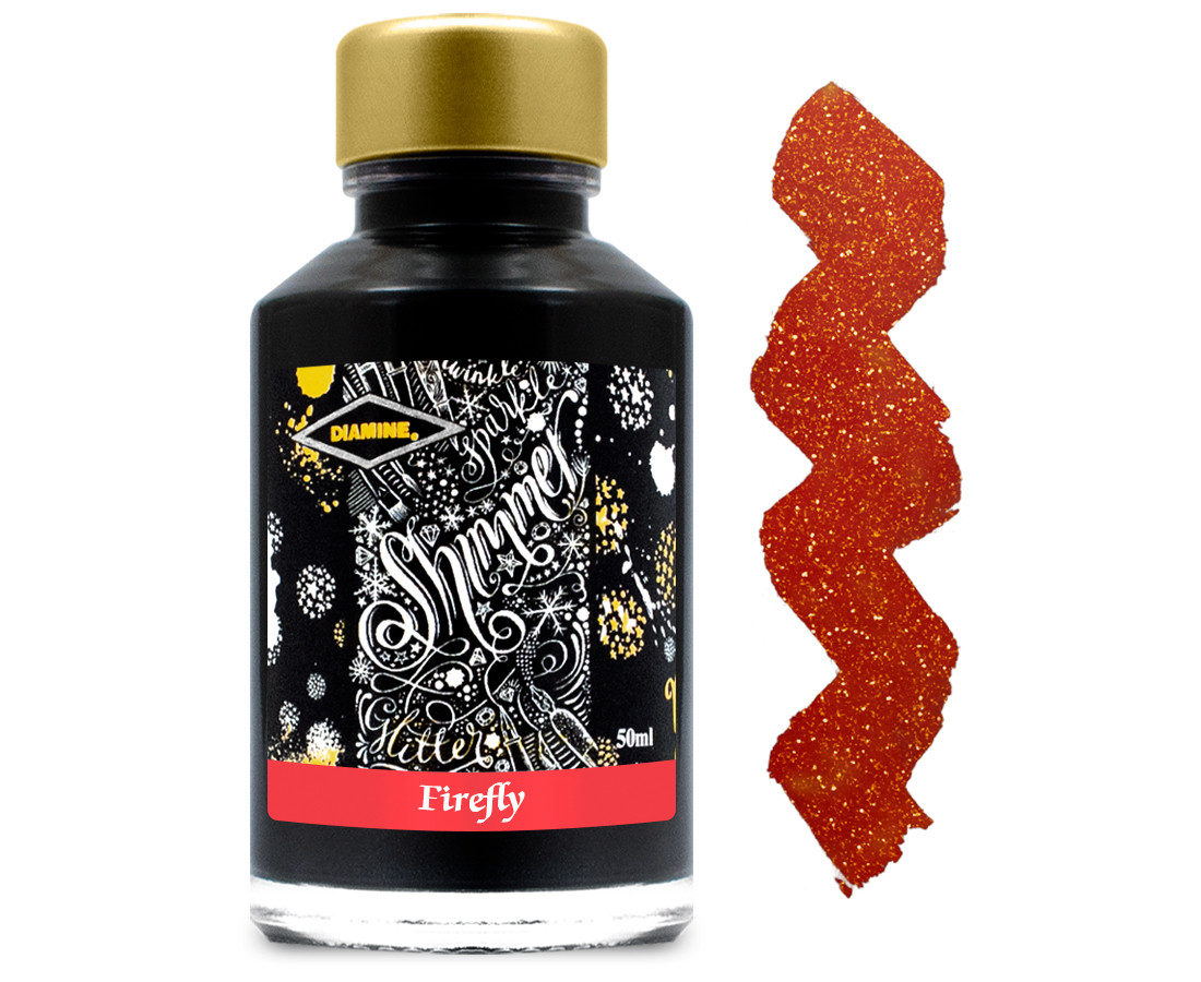 Diamine Ink Bottle 50ml - Firefly