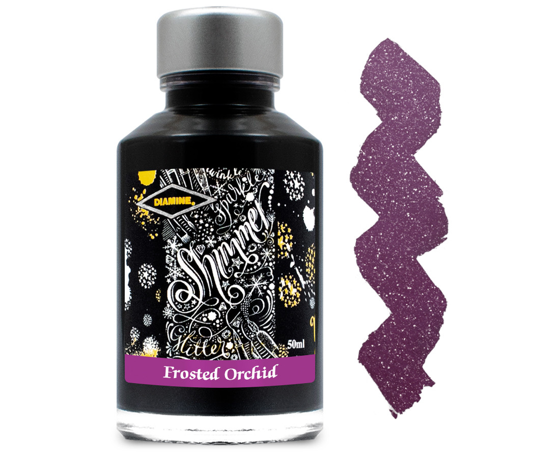 Diamine Ink Bottle 50ml - Frosted Orchid