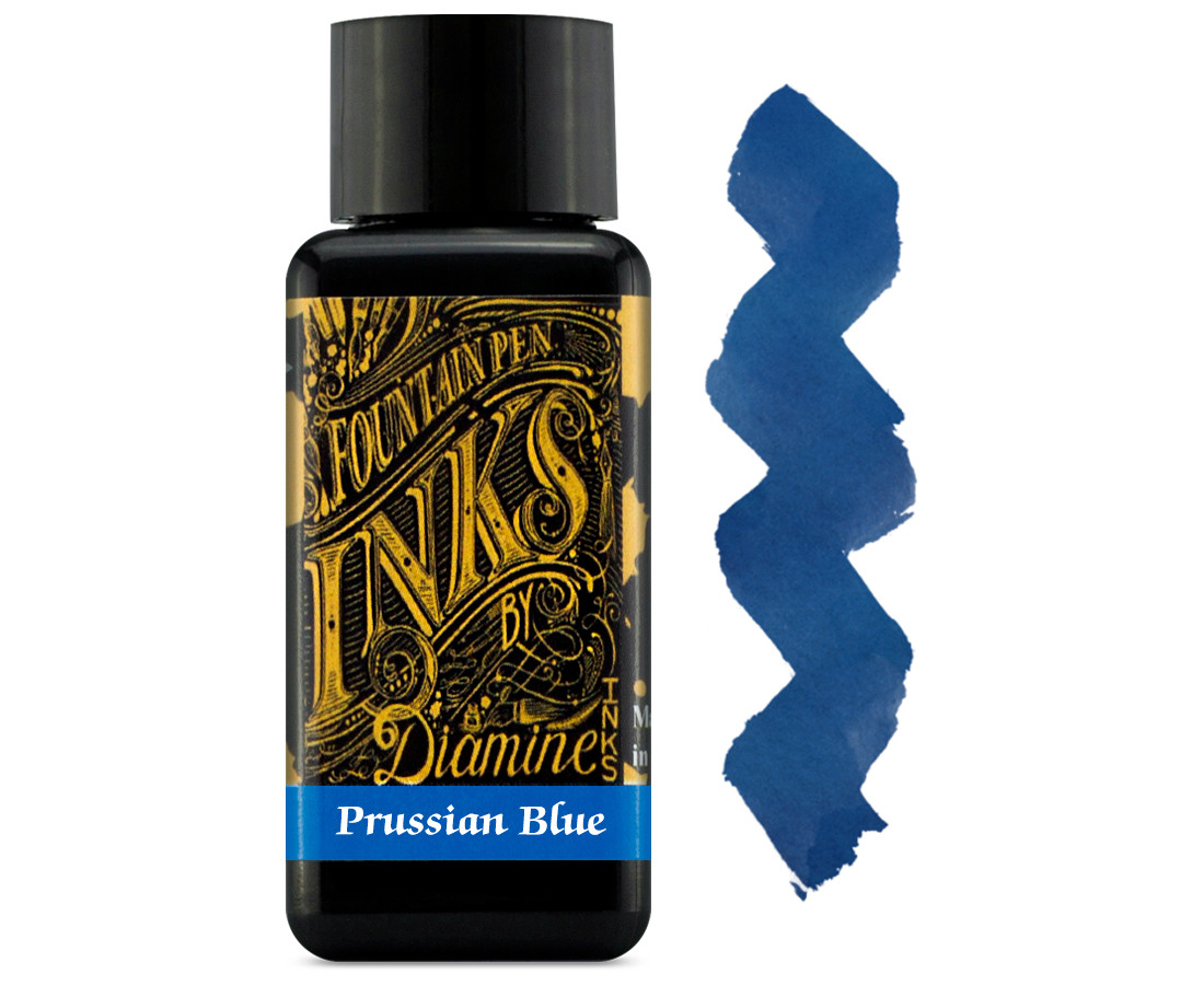 Diamine Ink Bottle 30ml - Prussian Blue