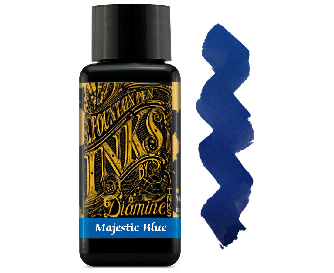Diamine Ink Bottle 30ml - Majestic Blue