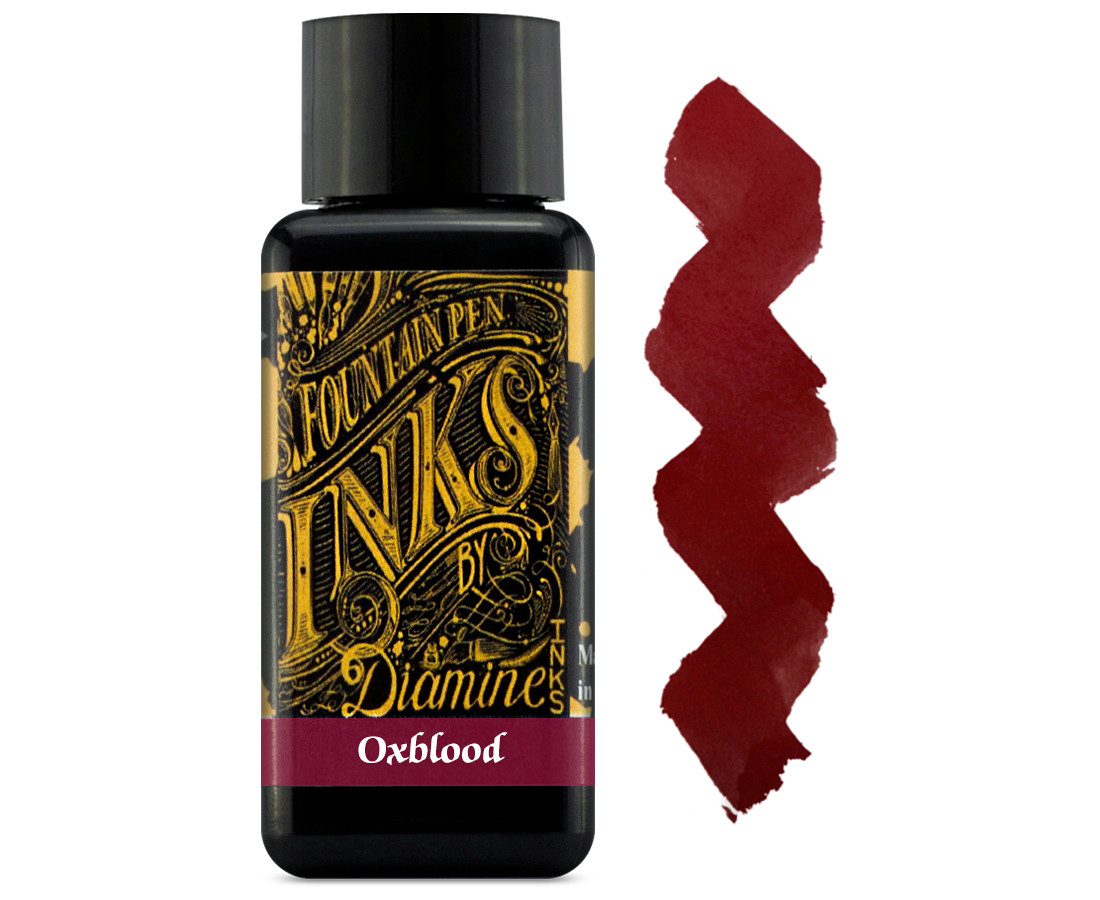 Diamine Ink Bottle 30ml - Oxblood
