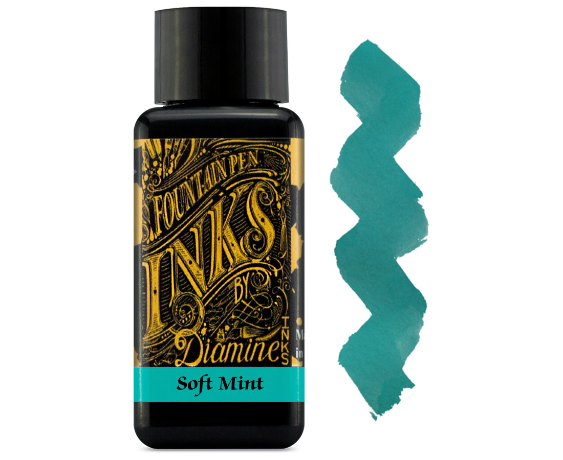 Diamine Ink Bottle 30ml - Soft Mint