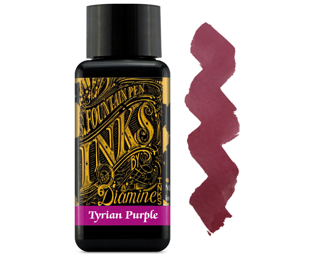 Diamine Ink Bottle 30ml - Tyrian Purple