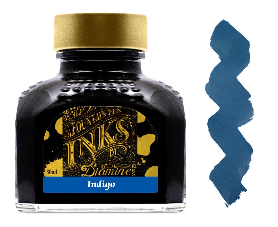 Diamine Ink Bottle 80ml - Indigo