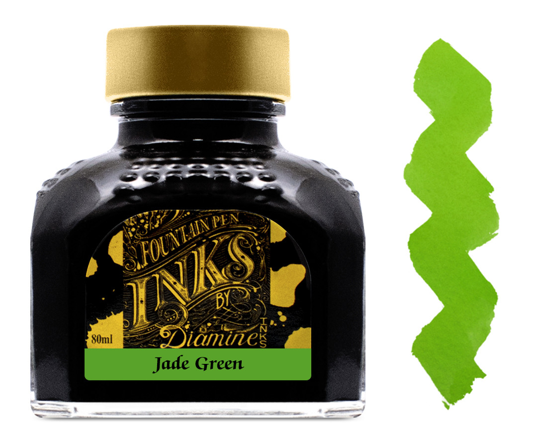 Diamine Ink Bottle 80ml - Jade Green