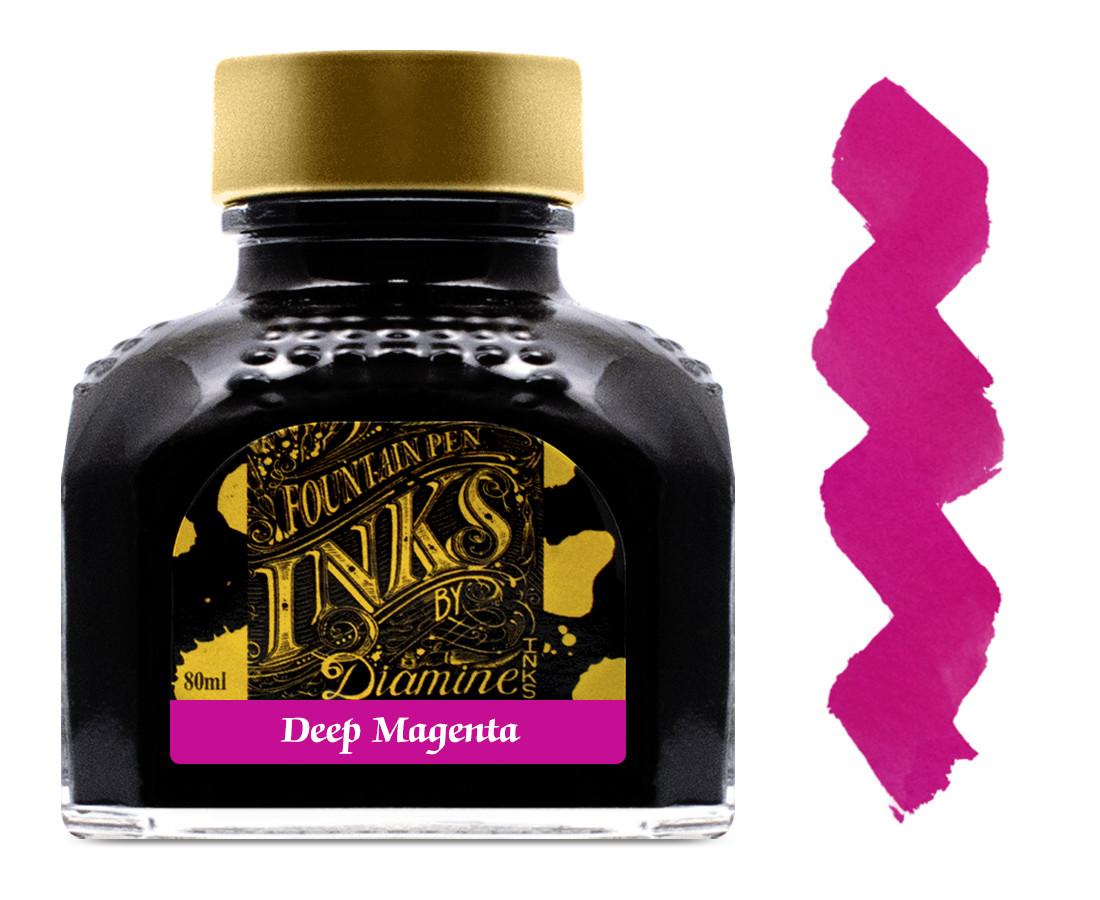 Diamine Ink Bottle 80ml - Deep Magenta