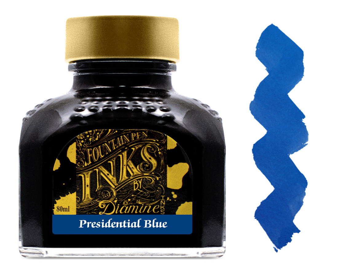 Diamine Ink Bottle 80ml - Presidential Blue