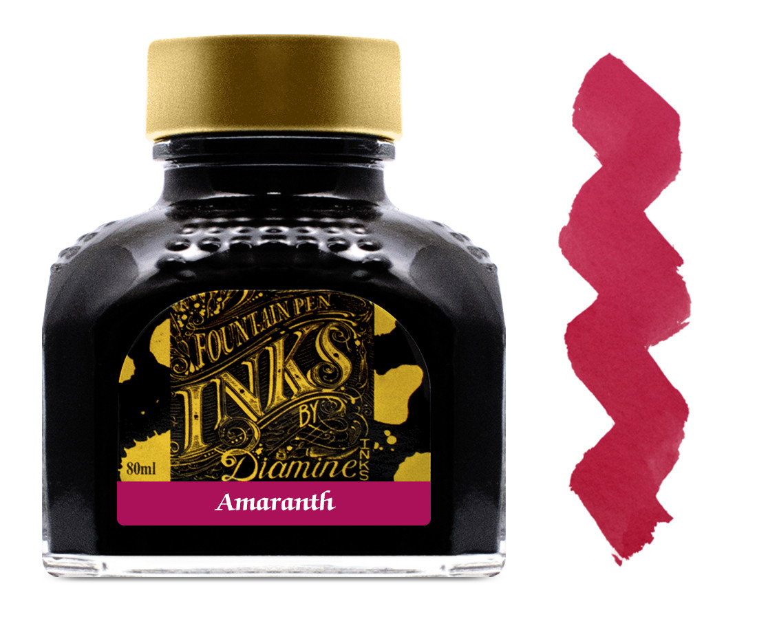 Diamine Ink Bottle 80ml - Amaranth