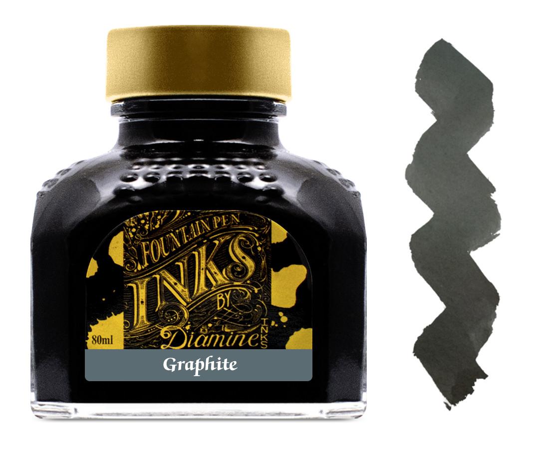 Diamine Ink Bottle 80ml - Graphite