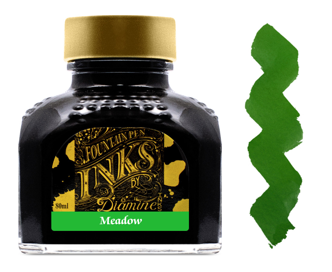 Diamine Ink Bottle 80ml - Meadow