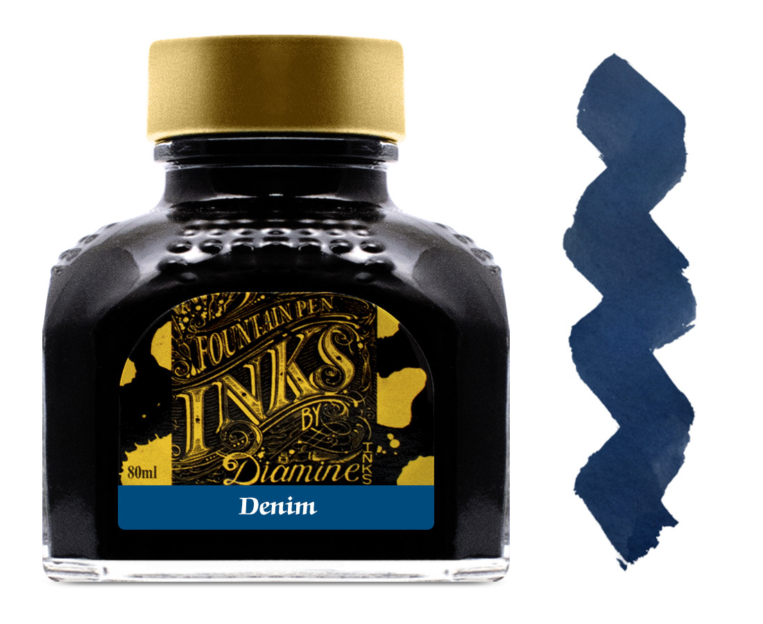 Diamine Ink Bottle 80ml - Denim