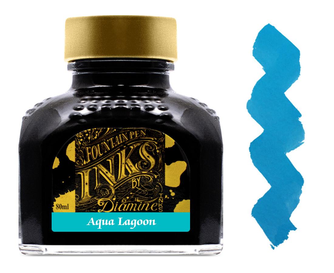 Diamine Ink Bottle 80ml - Aqua Lagoon