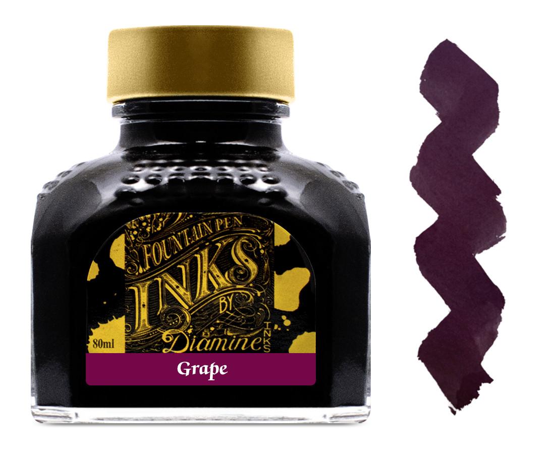Diamine Ink Bottle 80ml - Grape