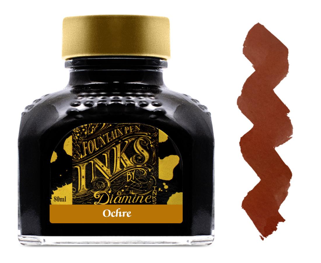 Diamine Ink Bottle 80ml - Ochre