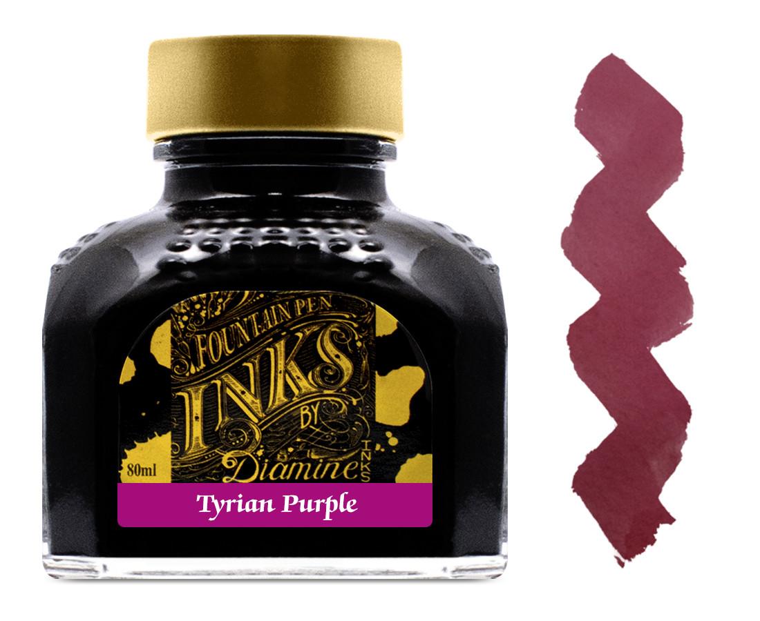 Diamine Ink Bottle 80ml - Tyrian Purple