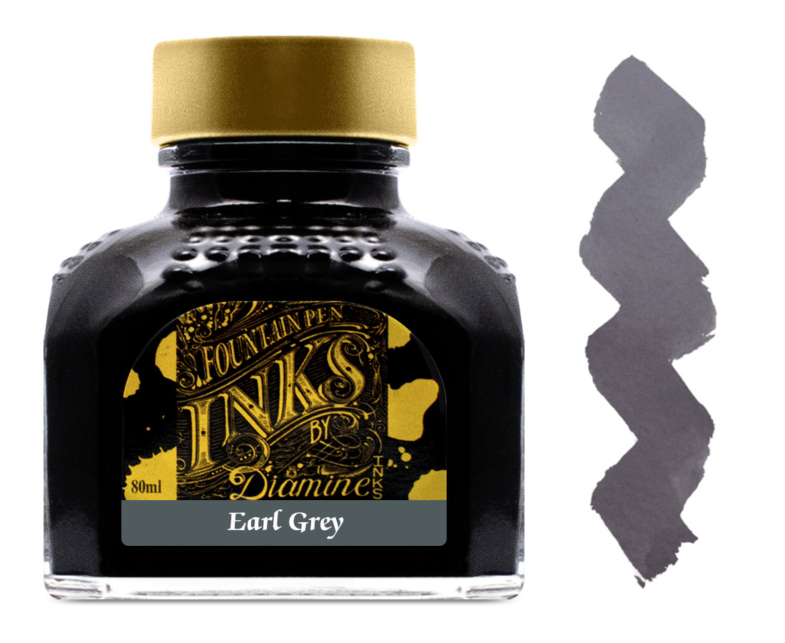 Diamine Ink Bottle 80ml - Earl Grey