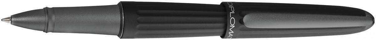 Diplomat Aero Rollerball Pen - Black